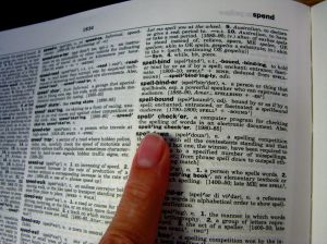 Memorizing and subsequently forgetting words is how I spend my Saturday nights. (Courtesy photo)